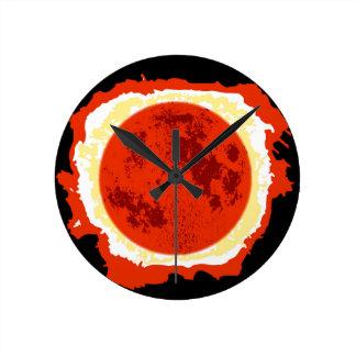 Blood Moon Eclipse Wallclock