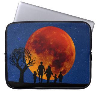 Blood Moon Lunar Eclipse Laptop Sleeve