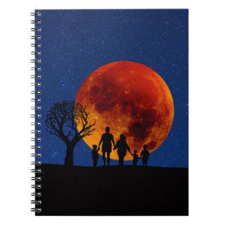 Blood Moon Lunar Eclipse Notebook