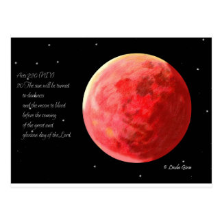 Blood Moon Post Cards