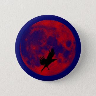 Blood moon raven blood moon raven 2 inch round button