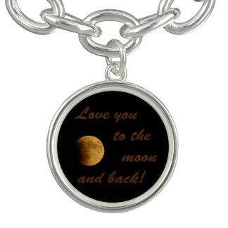 Blood Moon September 27, 2015 Charm Bracelet