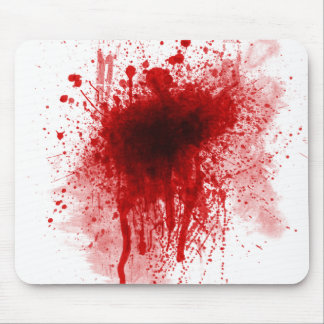 Blood mousepad