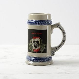 Blood Of Dracula Beer Stein