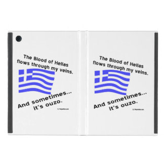 Blood of Hellas and Ouzo iPad Mini Case
