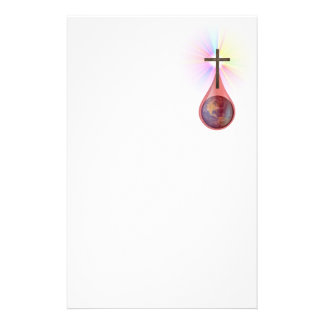 Blood of Jesus Stationery