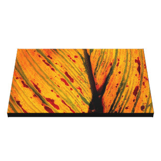 BLOOD ON THE LEAVES CANVAS PRINT