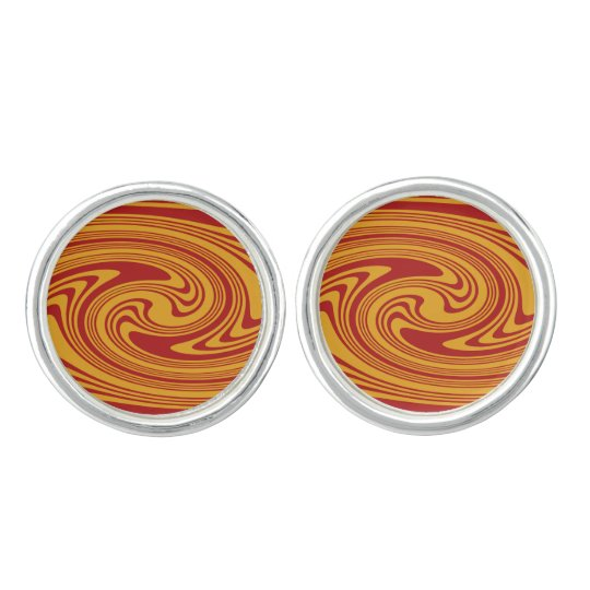 Blood Orange Cuff Links