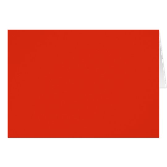 Blood Orange Red Solid Trend Colour Background Card