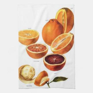 Blood Oranges Kitchen Towel