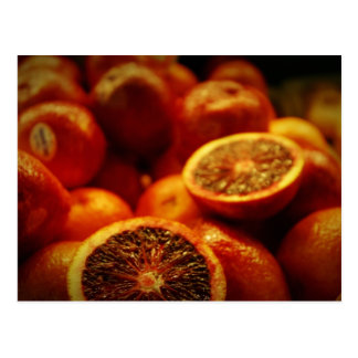 Blood Oranges Postcard
