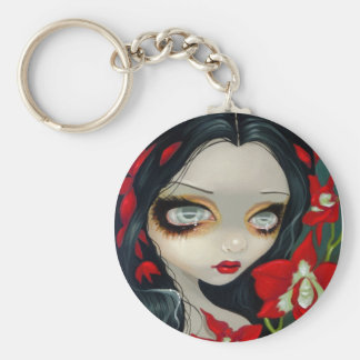 """""""Blood Orchid"""" Keychain"""