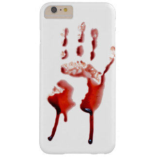 Blood print barely there iPhone 6 plus case