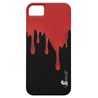 Blood Red Drip iPhone 5 Cases