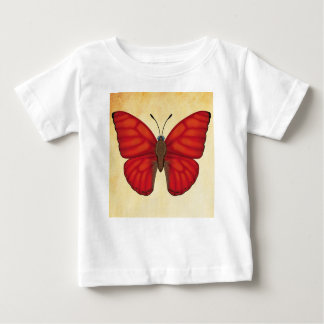 Blood Red Glider Butterfly Baby T-Shirt