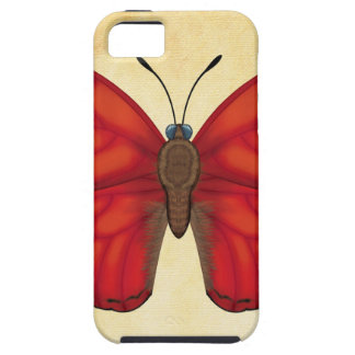 Blood Red Glider Butterfly Case For The iPhone 5