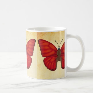 Blood Red Glider Butterfly Coffee Mug