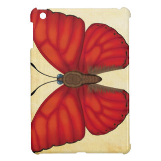 Blood Red Glider Butterfly iPad Mini Case