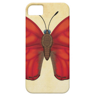 Blood Red Glider Butterfly iPhone 5 Cover