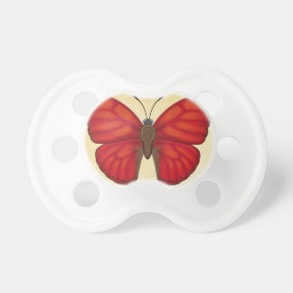 Blood Red Glider Butterfly Pacifier