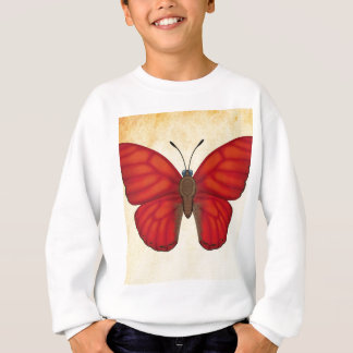 Blood Red Glider Butterfly Sweatshirt