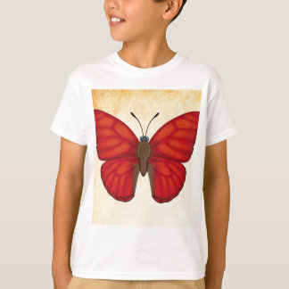Blood Red Glider Butterfly T-Shirt