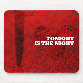 Blood Red Mousepad