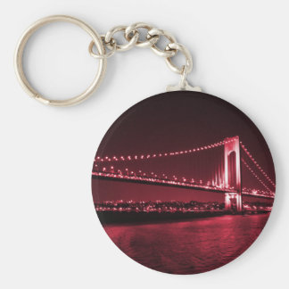 Blood Red Narrows keychain