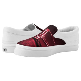 Blood Red Narrows Z slipons Slip-On Sneakers
