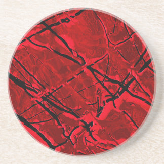 BLOOD RED ROYALE ~ COASTER