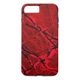 BLOOD RED ROYALE ~ iPhone 7 PLUS CASE