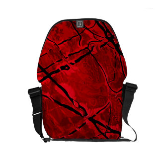 BLOOD RED ROYALE ~ MESSENGER BAGS