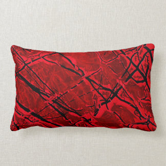 BLOOD RED ROYALE ~ PILLOW
