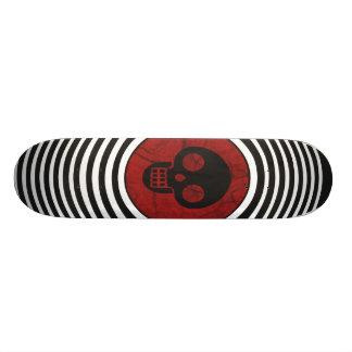 Blood Shot Custom Skateboard