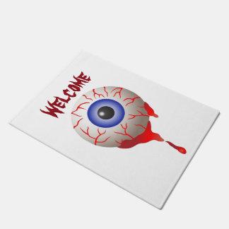 Blood Shot Eye Doormat