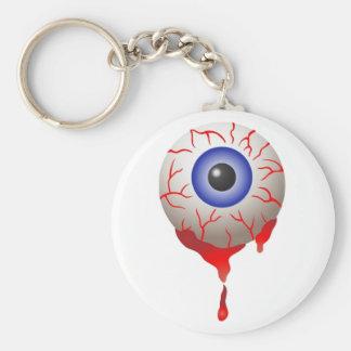 Blood Shot Eye Key Chains