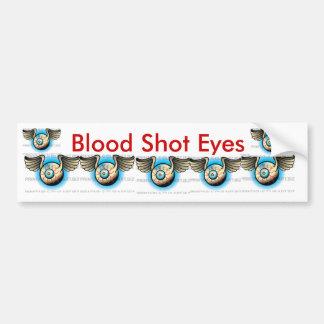 Blood Shot Eyeball Bumper Sticker