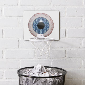 Blood-shot Eyeball Mini Basketball Hoop