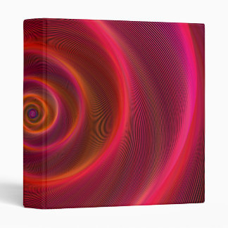 Blood spiral vinyl binder