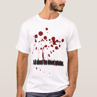 Blood Splatter 01 T-Shirt