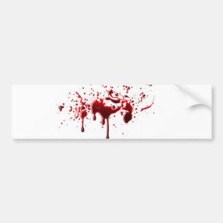 blood splatter 3.png bumper sticker