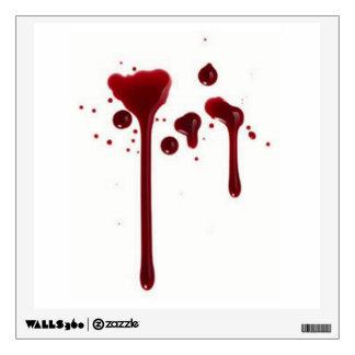 blood splatter 4.png wall sticker