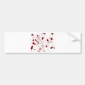 Blood Splatter Bumper Sticker
