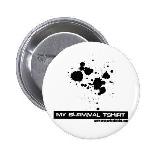 Blood Splatter Pinback Button