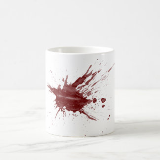 """Blood Splatter"" Coffee Mug"