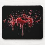 Blood Splatter Mousepad