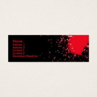 Blood Splatter Profile Card