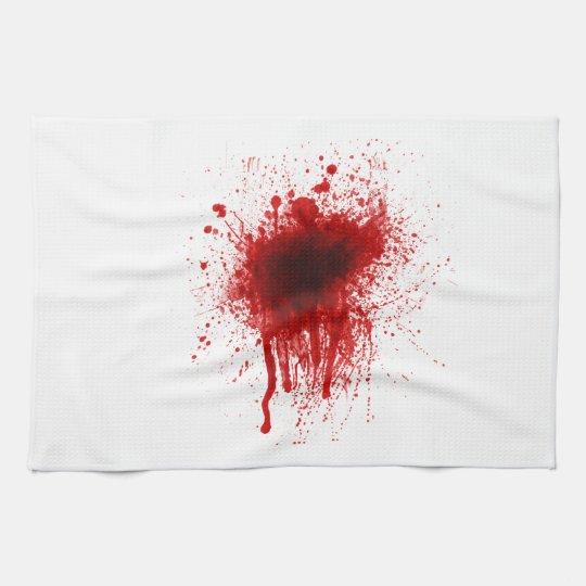 Blood Splatter Realistic Kitchen Towel