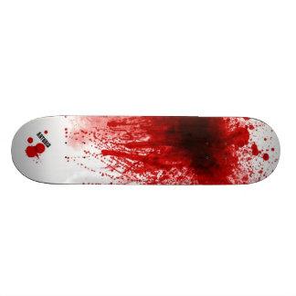 Blood Splatter Skate Board Deck