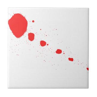 Blood Splatter Tile